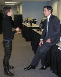 ASAC Donald Borelli with Catherine Herridge of FOX News