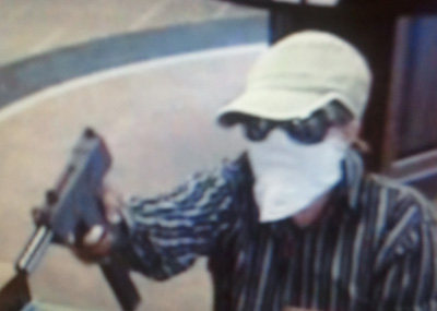 Valdosta Bank Robbery Suspect, Photo 5 of 6 (8/2/11)