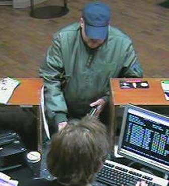 Tulsa, Oklahoma Bank Robbery Suspect, Photo 3 of 4 (12/11/09)