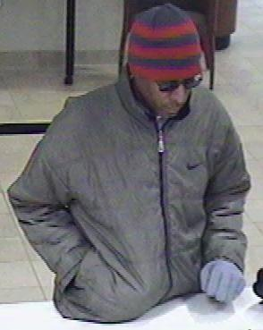 Denver Unknown Bank Robbery Suspect, Photo 3 of 3 (12/1/10)