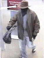 Norfolk Region Bank Robbery Suspect, Photo 1 of 3 (1/7/14)