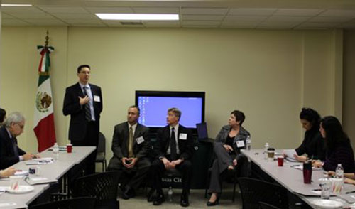 SSA Heith Janke Speaks During CREST Panel Discussion