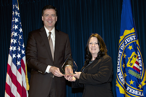 Director Comey and Sandy Smart