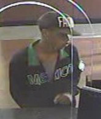Houston Bank Robbery Suspect, Photo 3 of 3 (10/10/13)