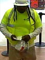 Spring, Texas Bank Robbery Suspect, Photo 3 of 4 (10/4/13)