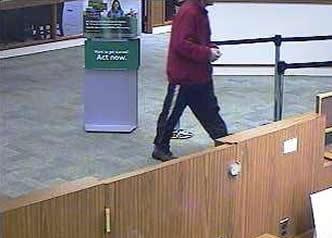 Philadelphia Bank Robbery Suspect, Photo 4 of 4 (2/6/14)