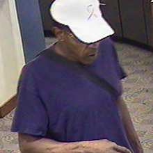 Denver Bank Robbery Suspect, Photo 1 of 4 (9/28/11)