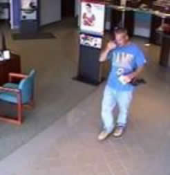 St. Louis Bank Robbery Suspect (4/9/14)