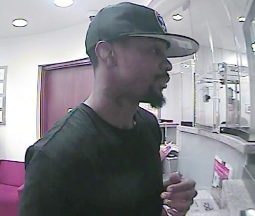 Philadelphia Bank Robbery Suspect, Photo 3 of 4 (7/2/13)
