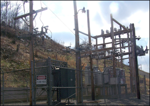 Electrical Substation (Stock Image)