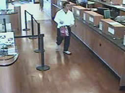 Imperial Beach, California Bank Robbery Suspect, Photo 4 of 4 (11/17/12)