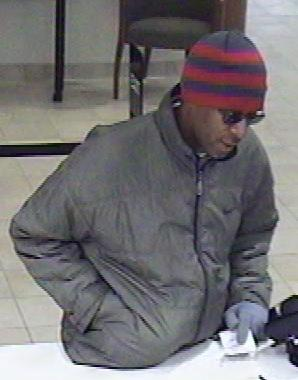 Denver Unknown Bank Robbery Suspect, Photo 1 of 3 (12/1/10)
