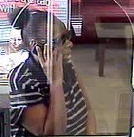 Houston Bank Robbery Suspect, Photo 1 of 3 (7/15/13)