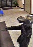 Schaumburg Bank Robbery Suspect, Photo 1 of 3 (11/23/10)