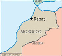 Fbi our partnerships in morocco map of morocco gumiabroncs Image collections