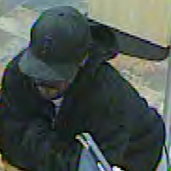 San Diego Bank Robbery Suspect, Photo 1 of 5 (12/30/10)