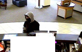 San Diego Armed Bank Robbery Suspect, Photo 6 of 6 (11/18/09)