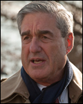 Director Mueller at the service for victims.