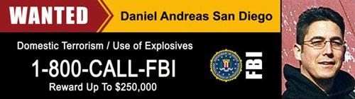 Daniel Andreas San Diego Wanted Billboard (2/28/14)