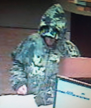 Jellico, Tennessee Bank Robbery Suspect, Photo 1 of 2 (7/1/13)