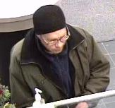 Littleton Bank Robbery Suspect, Photo 2 of 2 (12/19/09)