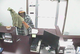 Cosby, Tennessee Bank Robbery Suspect, Photo 2 of 7 (9/27/10)