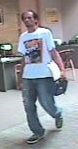 Aurora Bank Robbery Suspect, Photo 2 of 3 (6/19/13)