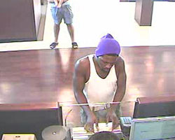 Suspect in Homestead Bank Robbery (5/16/13)