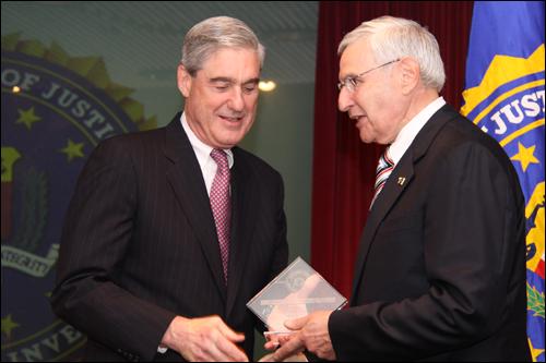 """Director Mueller and Jacob S. """"Josh"""" Elkes"""