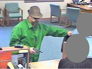 Sacramento Division Fake-Bearded Fedora Bandit, Photo 2 of 4 (4/27/10)