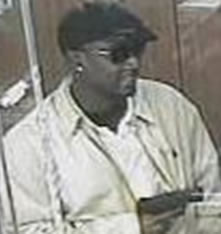 Houston Bank Robbery Suspect, Photo 2 of 4 (4/2/13)