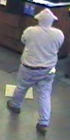 Philadelphia Bank Robbery Suspect, Photo 3 of 4 (4/5/13)