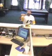 Southeast Serial Bank Robbery Suspect, Photo 9 of 10 (8/24/09)