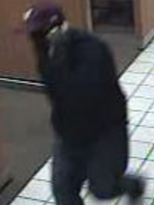 San Diego Bank Robbery Suspect, Photo 1 of 3 (12/19/13)