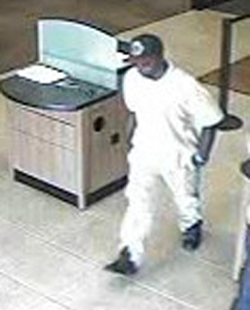 Houston Bank Robbery Suspect, Photo 4 of 4 (7/30/13)