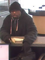 Philadelphia Bank Robbery Suspect, Photo 2 of 2 (2/17/13)