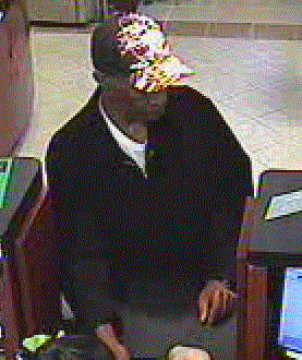 Norman, Oklahoma Bank Robbery Suspect, Photo 1 of 4 (2/1/13)