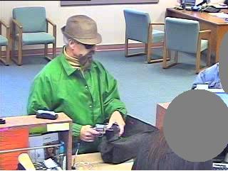 Sacramento Division Fake-Bearded Fedora Bandit, Photo 3 of 4 (4/27/10)