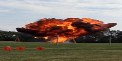 Improvised Explosives Demonstration, Photo 2 of 2 (9/26/13)