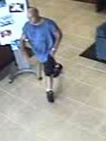 Homestead, Florida Bank Robbery Suspect, Photo 4 of 4 (10/3/12)