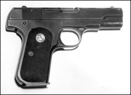 John Dillinger's Colt .380