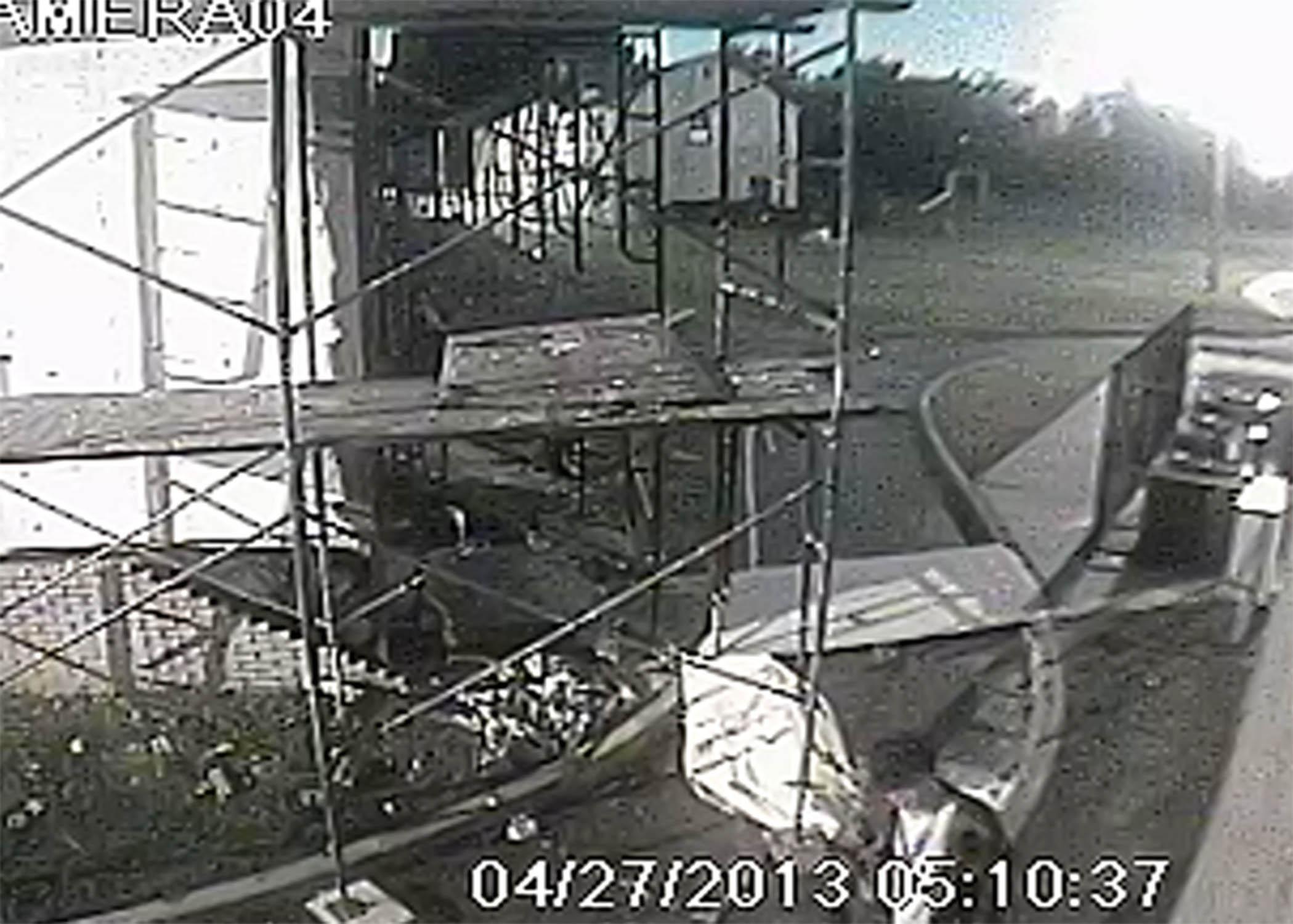 Oklahoma City Mosque Vandalism, Photo 2 of 4 (4/29/13)