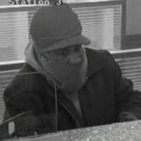 Boston Area Bank Robbery Suspect, Photo 2 of 4 (2/11/14)