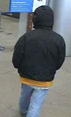 Denver Bank Robbery Suspect, Photo 3 of 3 (12/23/09)