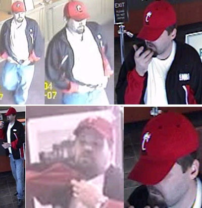Southeast Serial Bank Robbery Suspect, Photo 2 of 10 (8/24/09)