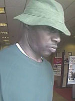Pembroke Pines, Florida Bank Robbery Suspect, Photo 3 of 3 (8/28/13)