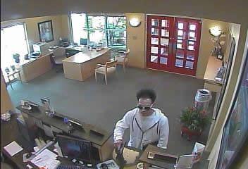 Oklahoma City Bank Robbery Suspect, Photo 2 of 3 (4/12/13)