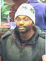 Washington, D.C. Bank Robbery Suspect, Photo 1 of 3 (12/19/12)