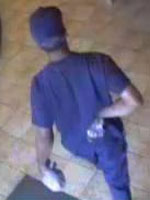San Diego Bank Robbery Suspect, Photo 3 of 4 (10/29/13)