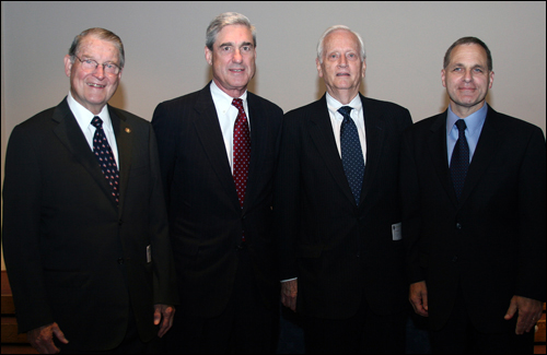 FBI Directors Webster, Mueller, Sessions, and Freeh in a formal photo
